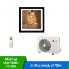 Aparat de aer conditionat LG ARTCOOL Gallery A12FR 12000 Btu/h Dual Inverter cu montaj standard inclus in Bucuresti si Ilfov