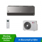 Aparat de aer conditionat LG ARTCOOL MIRROR Dual Inverter AC12BQ 12000 Btu/h Wi-Fi inclus cu montaj standard inclus in Bucuresti si Ilfov